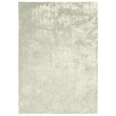 Collage by SPRINGS Silky Shag Ivory Area Rug - Lowe's Canada