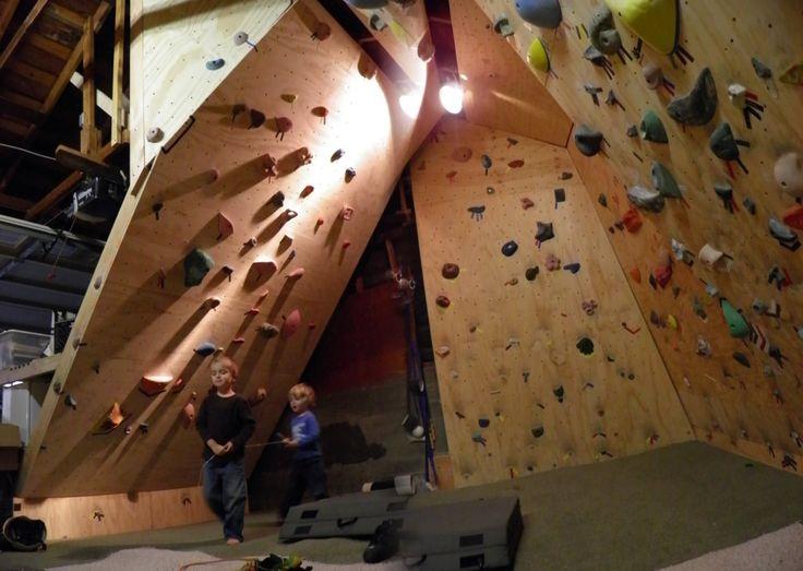 build a home rock climbing wall  Health  Fitness