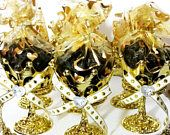 12 NEW Crown Prince Gold Cup Favors For Royal Baby Shower / Perfect for a Black and Gold Baby Shower Prince Theme Decorations