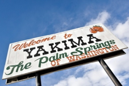 Born and raised in Yakima ... known as the Palm Springs of WA.