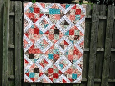 Happy Quilting: Disappearing 16 Patch Tutorial idea for our quilt