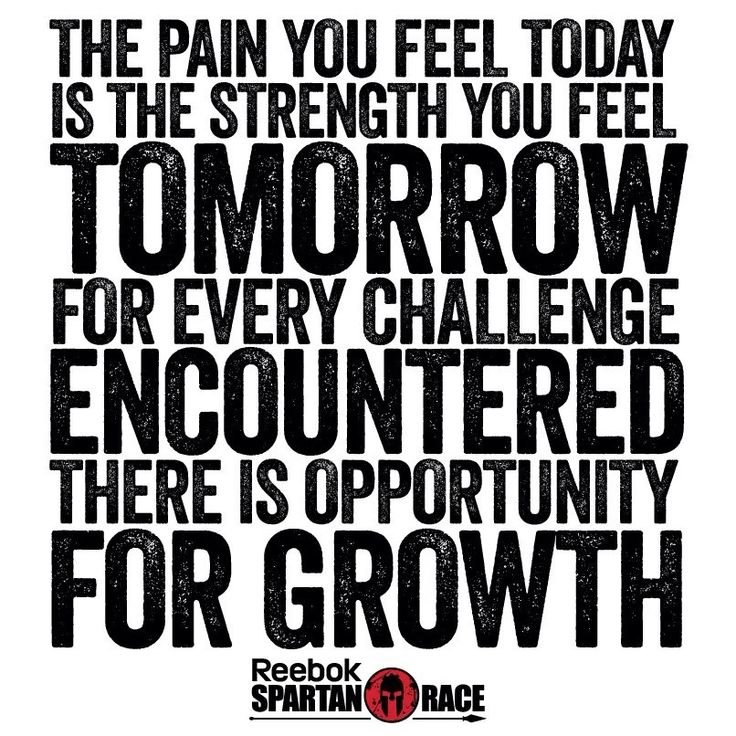 The pain you feel today is the strength you feel tomorrow. For every challenge encountered, there is opportunity for growth.