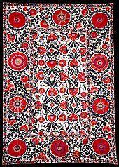 Suzani (textile) - Wikipedia, the free encyclopedia