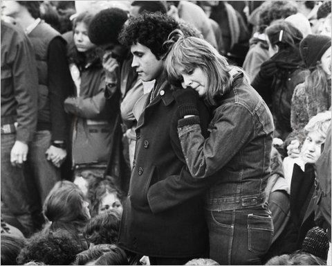 I remember I was ten years old and being profoundly impacted by the images on the news of fans mourning the loss of John Lennon...