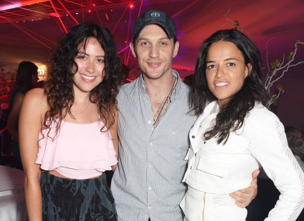 Eliza Doolittle, Tom Hardy and Michelle Rodriguez attend day two of the Audi Polo Challenge