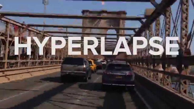 Instagram's Hyperlapse: 4 NYC Bridges in 45 seconds | Mashable