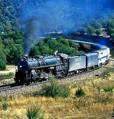 GRAND CANYON LIMITED  OVER 1300 MILES BEHIND BIG MAINLINE STEAM  LOS ANGELES TO THE GRAND CANYON RT WITH PHOTO RUN-BYS  MAY 14-19, 2012