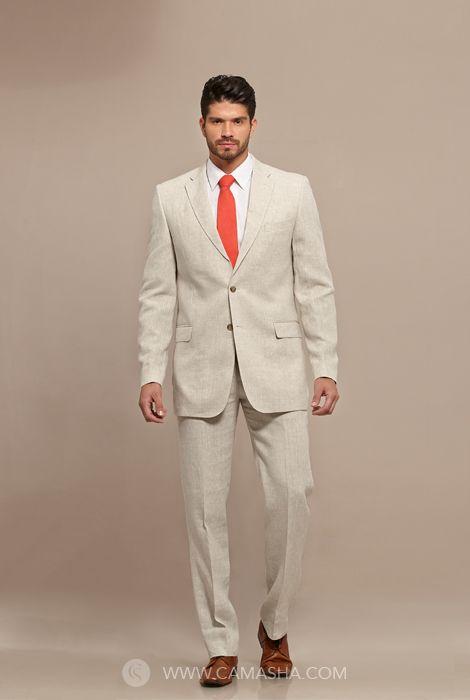 Las 25 mejores ideas sobre trajes de camisa de novio en for Boda en jardin como vestir hombre
