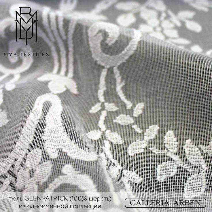 фрагмент шерстяного #кружева #GLENPATRICK из коллекции #Paisley www.bit.ly/1aW5Ko2 #galleria_arben #MYBtextille