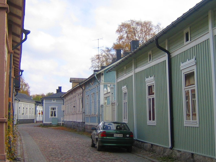 Old Rauma, on the Unesco's world heritage list