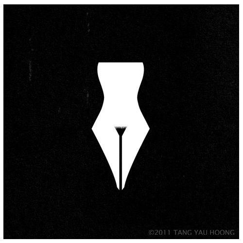 "GD Logo#6- ""Female Writers"" Logo."
