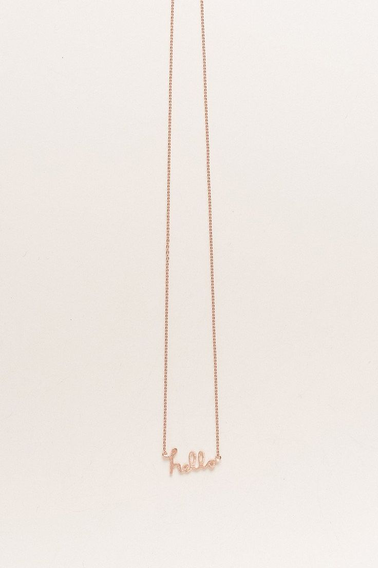 Heather Hello Necklace - Morning Lavender