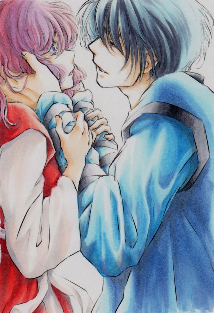 Akatsuki no Yona anime and Manga || art by k_ponbon