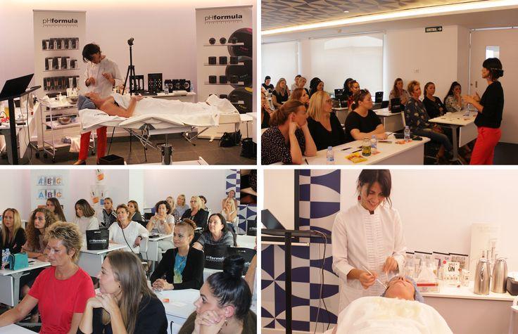 Top skin specialists from Denmark attending an advanced skin resurfacing workshop hosted by pHformula's Petru van Zyl (Founder) and Susanna Porras (International Educator)  #skin resurfacing #education #skinspecialists