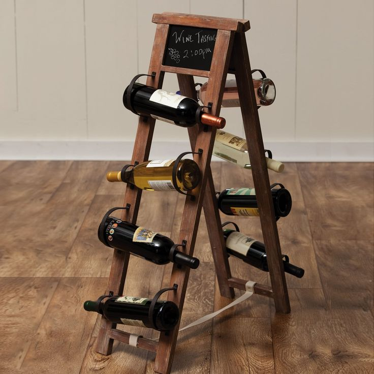 wood and metal wine racks evergreen enterprises 8whw08001 wood and metal wine rack