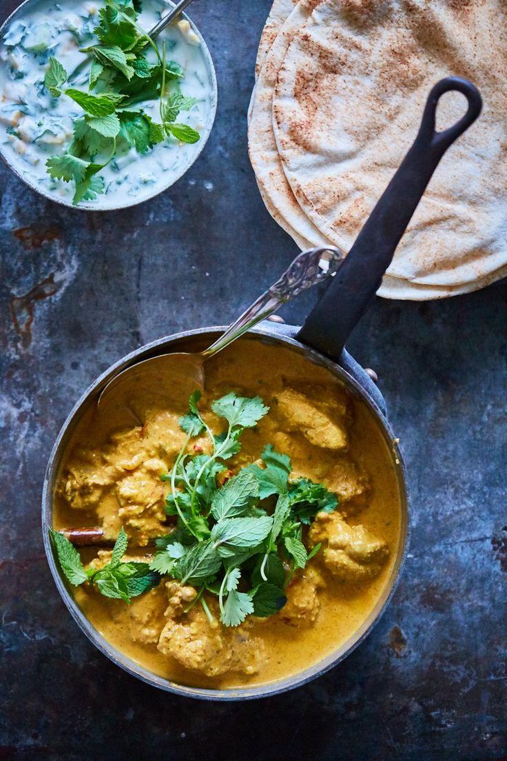 Butter chicken - Den indiske favorit!