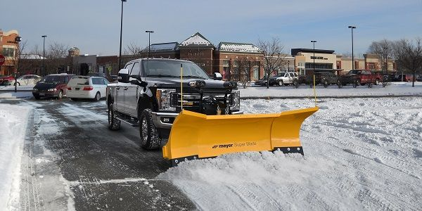 Meyer Products Introduces The Super Blade Snow Plow With Images Snow Plow Winter Safety Snow Plow Truck