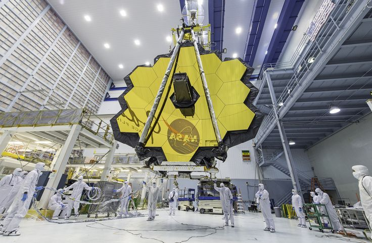 James Webb Space Telescope Mirror Seen in Full Bloom #NASA Image of the day #photograhpy #photooftheday