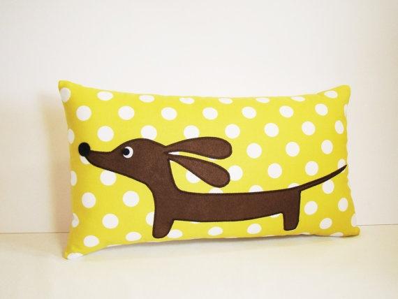 Wiener Dog Pillow