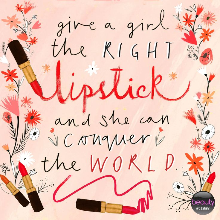 Maudjesstyling: Give a girl the right lipstick and she can conquer the world #BeautyAtTesco #BeautyQuote