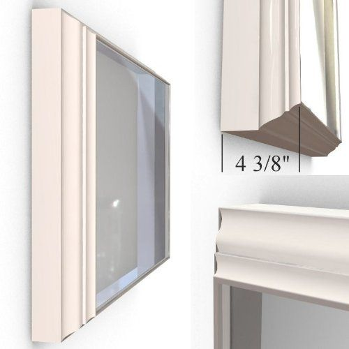 "Amazon.com: Perfect Bedroom TV Furniture - Standard Flip-Out TV mount for the Flat Screen 15"" to 32"" TV with a White Wood Picture Frame: Electronics"