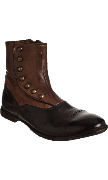 Officine Creative  Spats Ankle Boot  $675