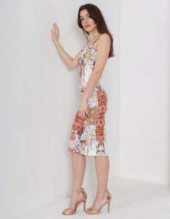 Kevan Jon MultiColour Elenor Slip Dress | Accent Clothing