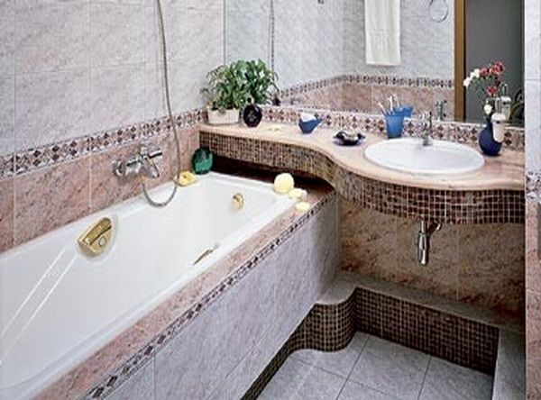 Дизайн ванной комнаты 2 кв м14