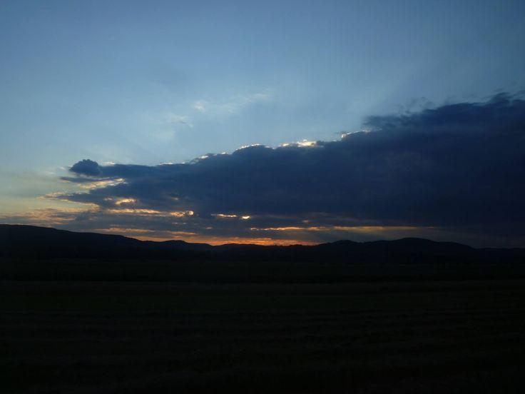 Let the sunset escape