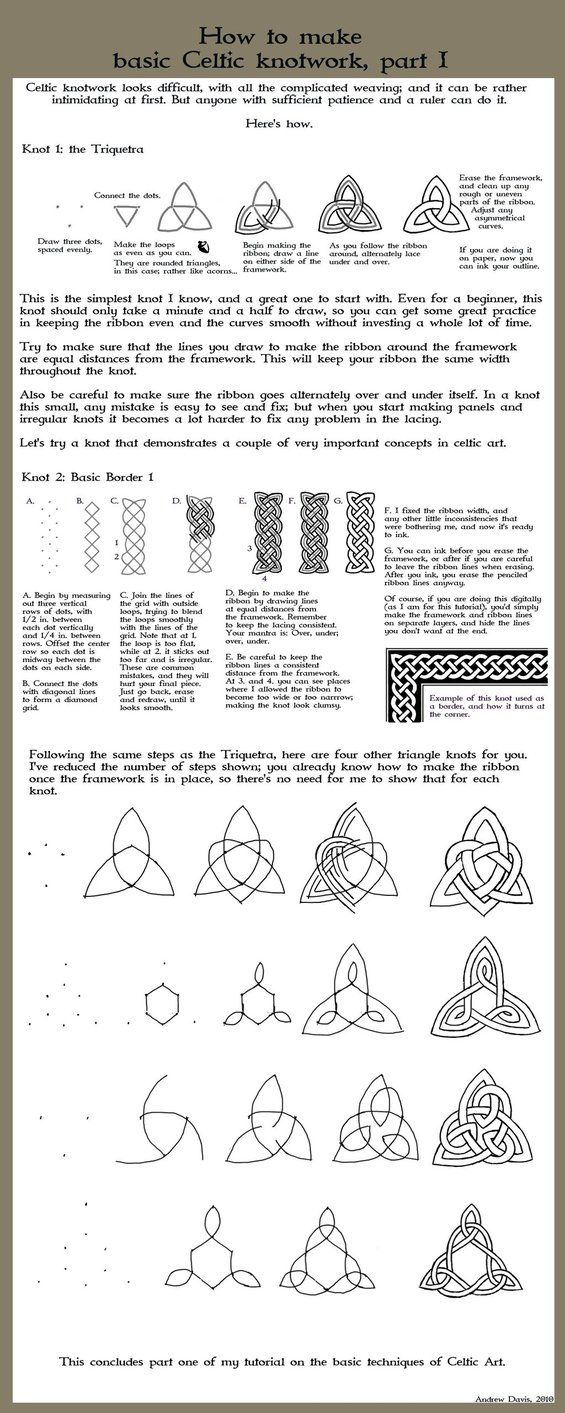 Celtic Tutorial 1 by Dweran on deviantART
