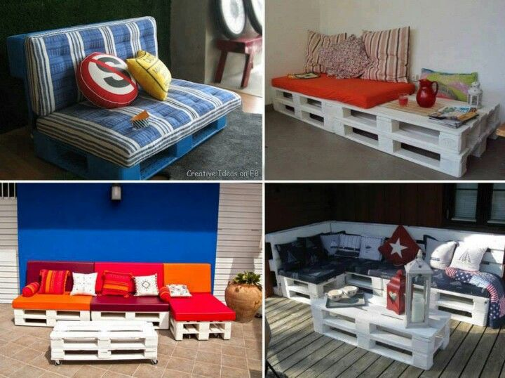 Pallette sofa