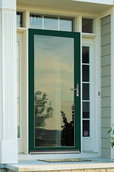 protect your front entry with a topquality storm door by larsen