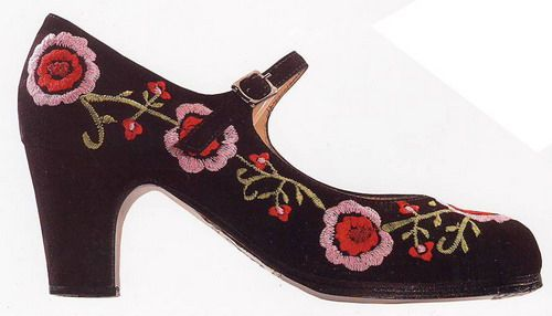 beautiful flamenco shoes