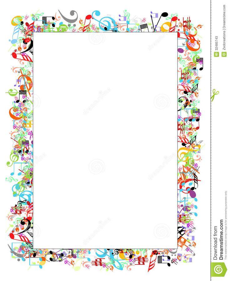 Calendar Border Clip Art : Music border clipart kid piano resources