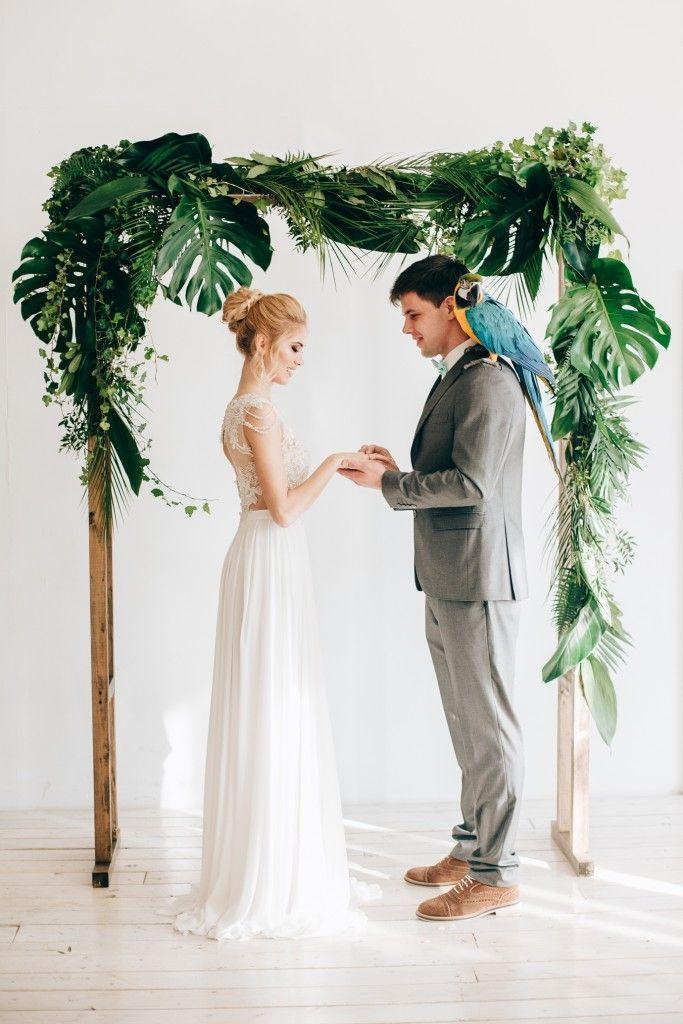 Тропический рай | Свадебная невеста