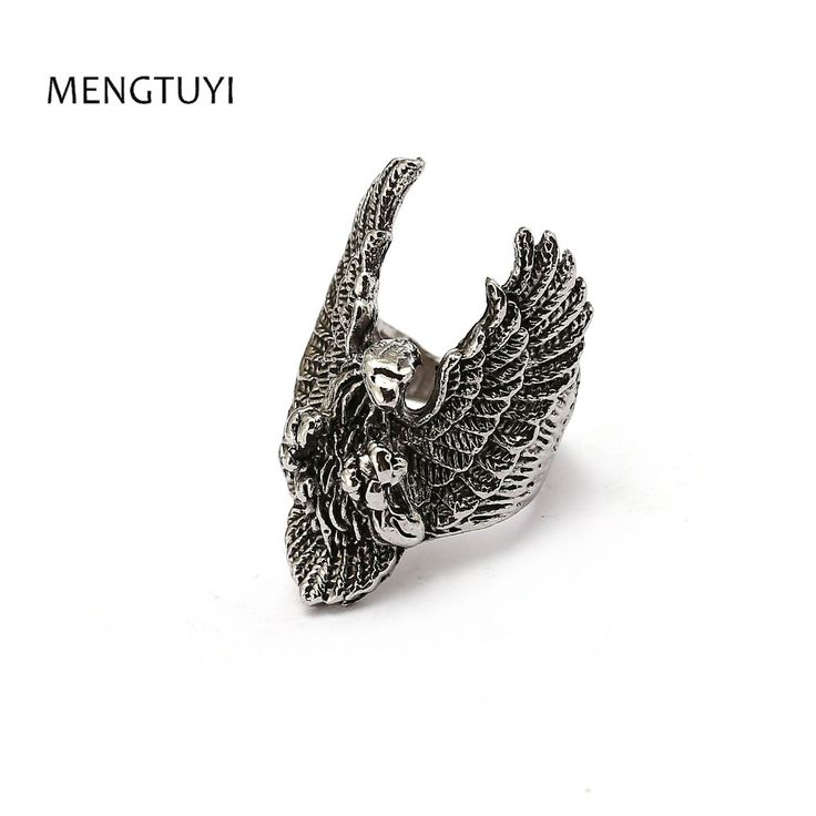 Mengtuyi Unique jewelry Metal Biker Eagle Ring Man's High Quality punk Jewelry. Yesterday's price: US $2.70 (2.19 EUR). Today's price: US $2.70 (2.20 EUR). Discount: 23%.
