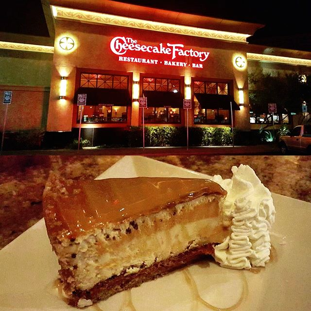 Sometimes you just have to say yes to sweet tooth satisfaction at The Cheesecake Factory in Tucson Mall, Tucson, Arizona!  (Photo via Instagram by @turboman_ch - Click on the pin for additional places to satisfy your appetite and more!)