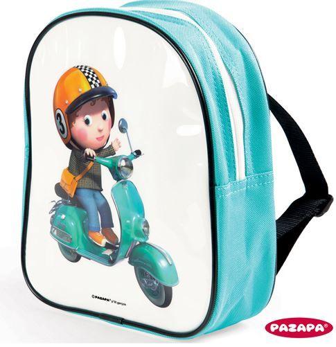 Rugzak Scooter  Met deze stoere rugzak kom je altijd goed voor de dag!  Ideaal voor school of het kinderdagverblijf.  Afmetingen: 20 x 7 x 23 cm