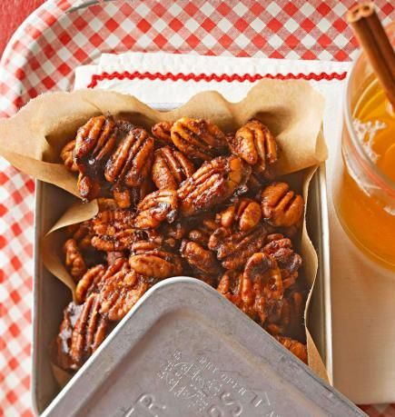 FOR CO-WORKERS - Snacks, food gifts in a jar, cinnamon pretzels, fudge, candy and more—the season's best recipes are the ones that double as gifts, especially when you pair them with clever packaging ideas.