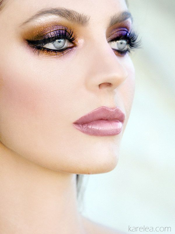 What an exciting mix of colours! Use your Sleek eye dusts to create this look!