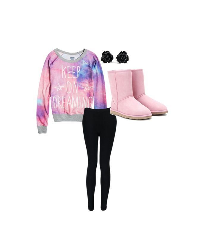 Keep Calm Sweater, Black Skinny Jeans, Pink UGGS, Black Jeans http://www.lrpvcgi.com $89.99 cheap ugg boots, ugg shoes 2015, fashion winter shoes