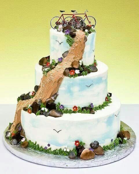 Birthday Table Mountain: 17 Best Images About Bike Themed Party Ideas On Pinterest
