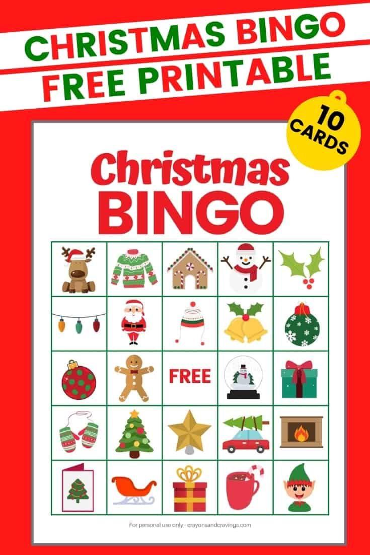 Christmas Bingo Christmas Bingo Printable Christmas Bingo Cards Christmas Bingo Printable