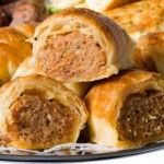 Using local produce wrapped in flaky pastry, simply scrummy!