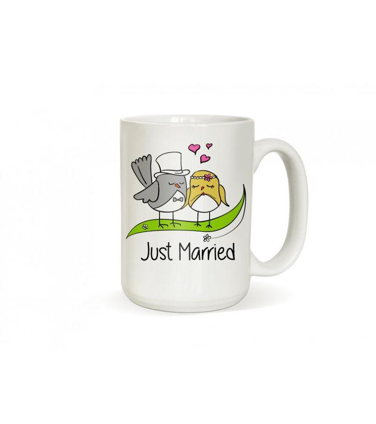 """Svatební hrneček po novomanžele. Doporučujeme zakoupit dva hrnečky do páru. Pro ženicha i pro nevěstu.    Nabízíme do série s ostatními produkty v sekci """"související zboží"""