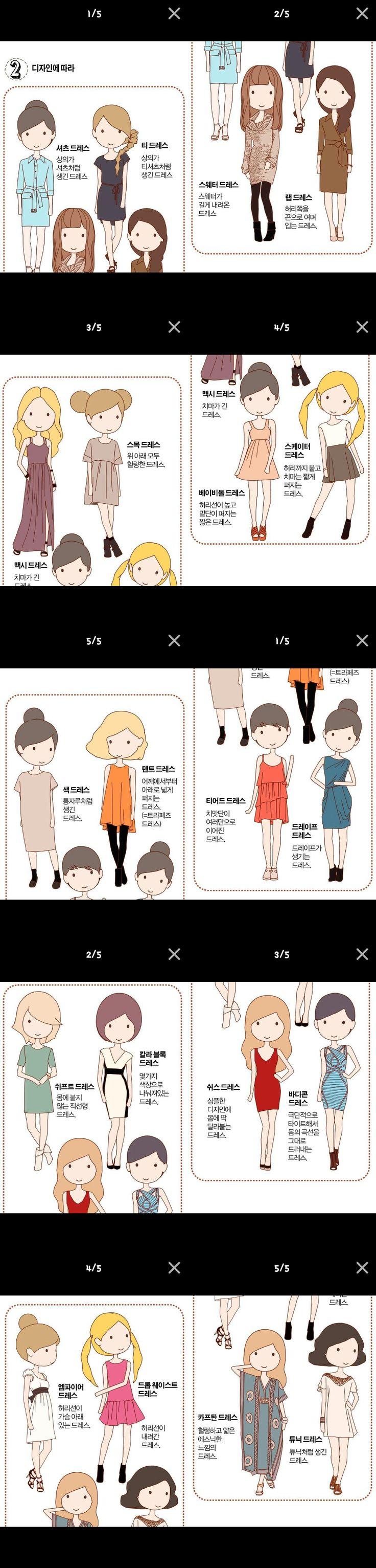 여자 드레스 종류