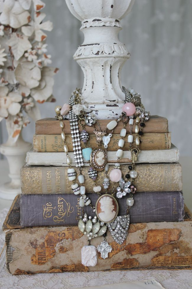 Would make a great jewelry display for the vintage flea market