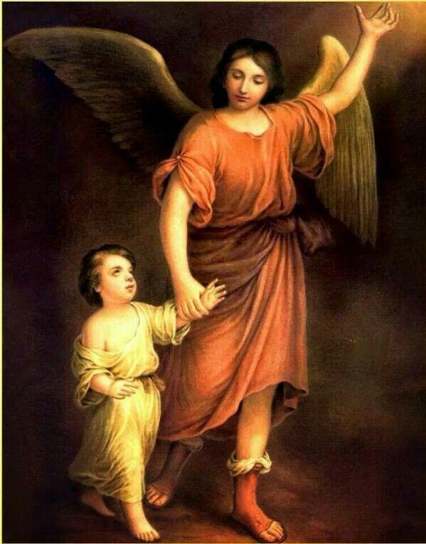 Santo Anjo do Senhor, meu zeloso e guardador, se a Ti me confiou, a piedade divina, sempre me rege, me guarde, governe, ilumine. Amém.