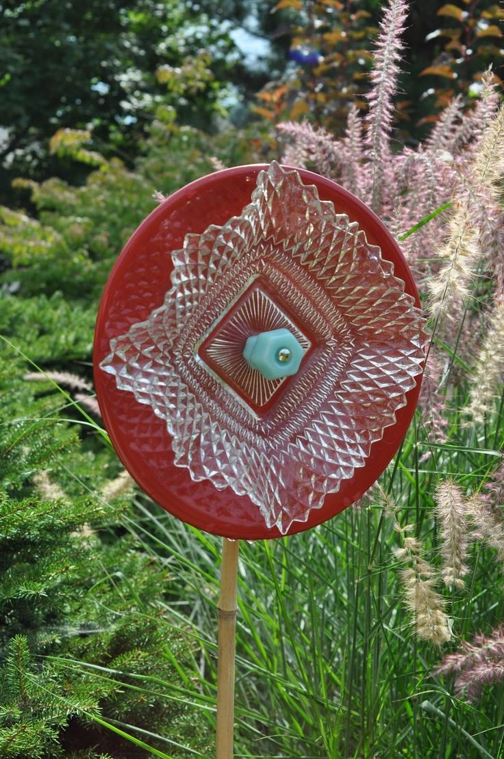 Glass Yard Art Gathered Glass Yard Art Garden Art