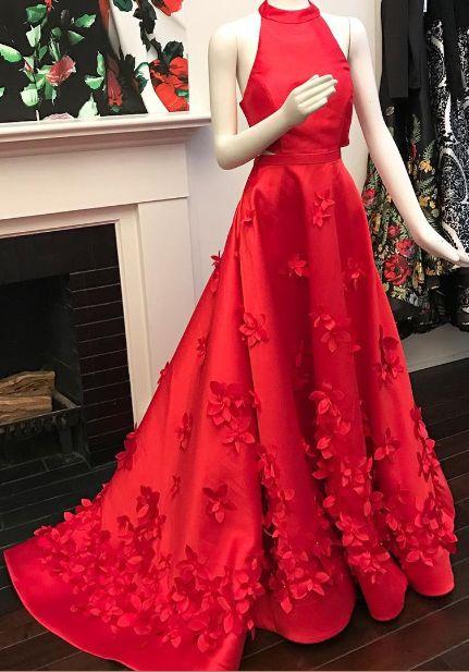 Red prom dress, sexy prom dress,Charming prom dress, long prom dress,prom dresses, elegant prom dress, prom dress